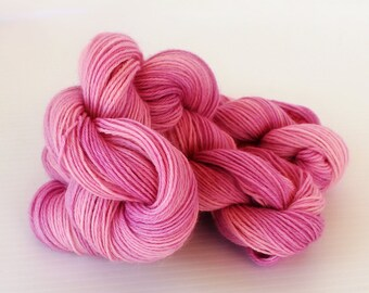 100 grams Hand dyed Alpaca, Merino, Cashmere Yarn, Handdyed Fingering Weight Yarn