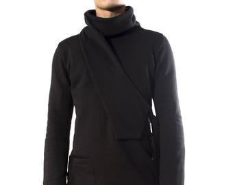 Sweater Ninja black man Turtleneck
