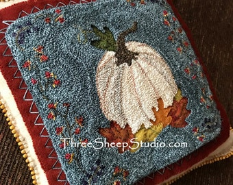 Punch Needle Pattern - Indian Summer - #PN533 - Needlepunch Embroidery