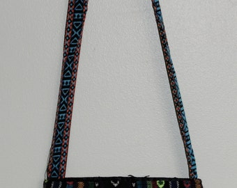Guatemalan Shoulder Bag Cross Body Purse Typical Colorful with Beads