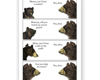 Bear Mothers Day Card