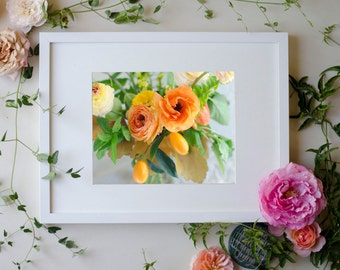 Flower Botanical Print Photograph Kumquat 8 x 10 Floral