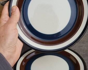 Arabia Kaira 2 Side Dessert plates Vintage Finnish Design Anja Jaatinen-Winqvist Fimmish Mid Century & Arabia kaira | Etsy