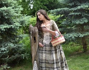 Scottish Dress; 18th Century Dress; Stomacher; 18th Century Jacket; Poldark Dress; Sassenach ******BODICE ONLY******