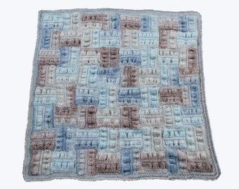 crochet pattern - seersucker Baby Afghan Pattern pdf file crochet baby blanket pattern crochet baby afghan pattern crochet blanket pdf file