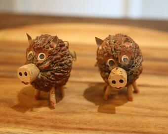 Folk Art Pig Etsy