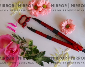 Hair Extension Fusion Heat Connector Iron for Pre Bonded Nail Tip Hair Extensions with instructions