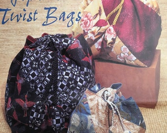 PDF Sewing Japanese Twist Bags (Small and Large)