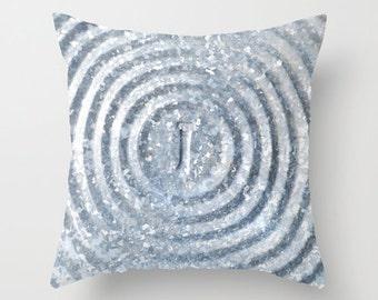 Photo Pillow Cover Decorative Metal Pillow Rustic Pillow Cover Texture Pillow