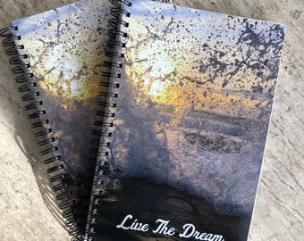 Live The Dream Lined Notebook