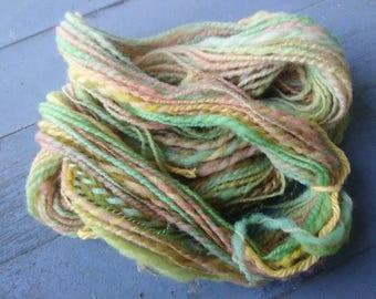"""Handspun yarn, """"Cotton Candy,"""" 72 yards"""
