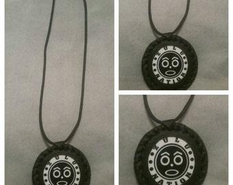 African medallion handmade Zulu Nation