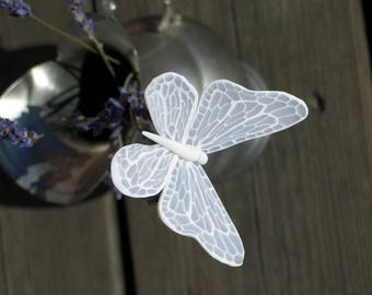 Handmade polymer clay wedding and party table decoration butterfly centerpieces