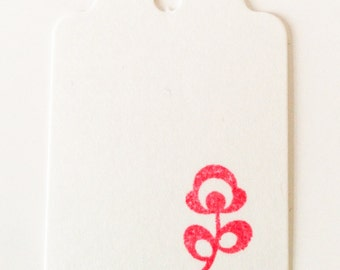 Little Retro Flower Rubber Stamp /// Spring /// Birthday /// Mariage