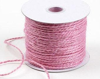 Jute Twine - Light Pink