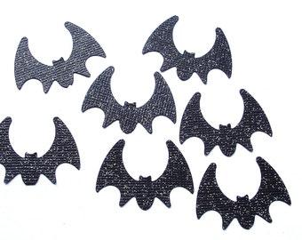 Halloween Glitter Black Bat Confetti 50CT, Halloween Party Decoration, Batman Confetti, Bat Birthday Party Decorations, Party Supply - No208