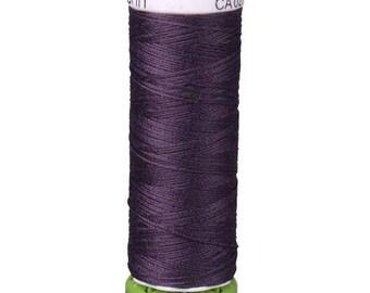 Plum Purple Gutermann Recycled Polyester Thread (GT512)