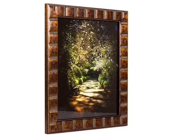 Craig Frames, 14x18 Inch Aged Bronze Picture Frame, Mosaic, Solid ...
