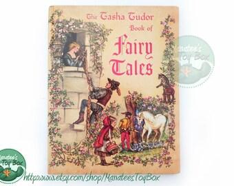 Vintage Tasha Tudor Book of Fairy Tales Hardcover 1980 Printing
