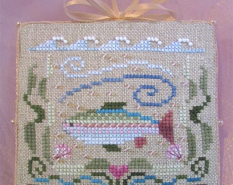 INSTANT DOWNLOAD Cross Stitch Chart for Brooke's Books Bride's Tree ornament: 7 of 12 Blessings