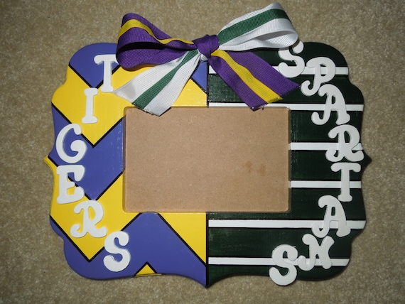 MADE TO ORDER: House Divided Picture Frame (Alt. Frame Shape) from ...