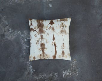 Hanna // Pillow // One of a kind // Handmade // Brown
