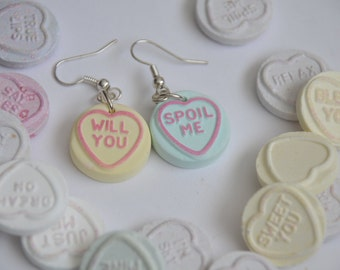Loveheart Earrings - Valentines day gift