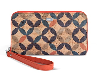 Circles Cork Wallet
