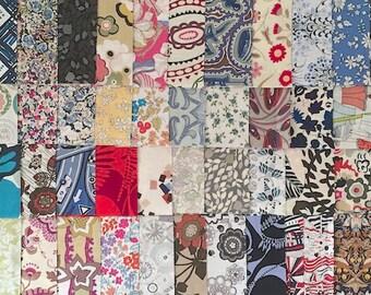 48 fabrics - Liberty of london - unique scrap pack