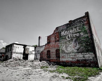 Knight's Tires - Ghost Sign - Detroit