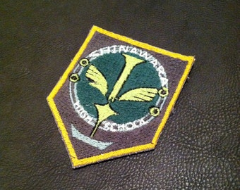 Aldnoah Zero Shinawara High School Embroidered Cosplay Patch