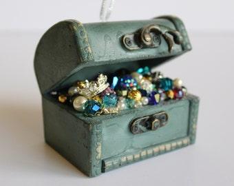 Treasure Chest Ornament/Mermaid Treasure Chest