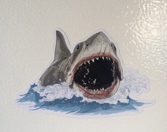 JAWS Shark Open Mouth Magnet