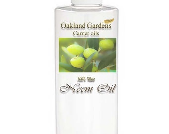 Neem - CARRIER OIL 100% Pure For Diluting Essential Oil - Neem Seed Oil is a very effective antiseptic, anti-fungal, antibacterial