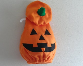 Baby Toddler Pumpkin Costume