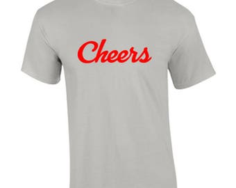 T-Shirt Cheers Holiday New Year Custom Shirt & Ink Color
