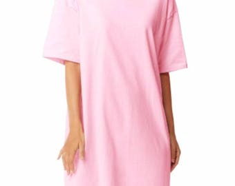 New! Teeshirt/t shirt/ night gown or nightgown romper house dress