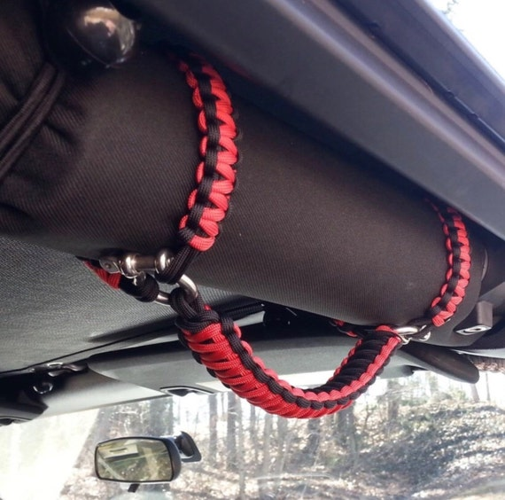 Jeep Cobra Paracord Grab Handle Set