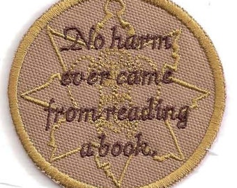No Harm Ever Came From Reading a Book patch