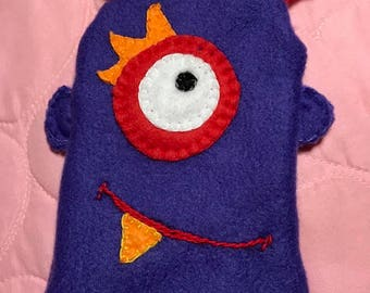 Little Monster Boo Boo Bag