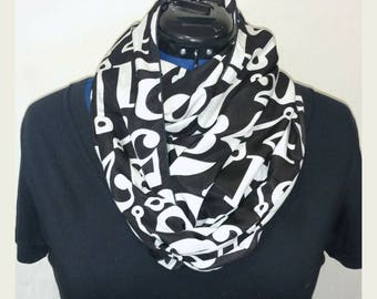 Tell Time Infinity Scarf
