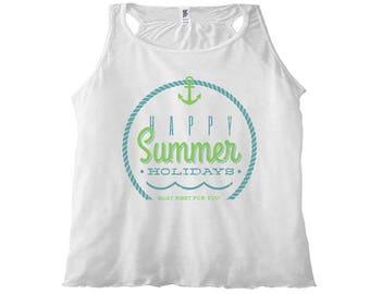 Women's Tank Top Happy Summer