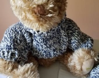 Matching sweater with Teddy Bear