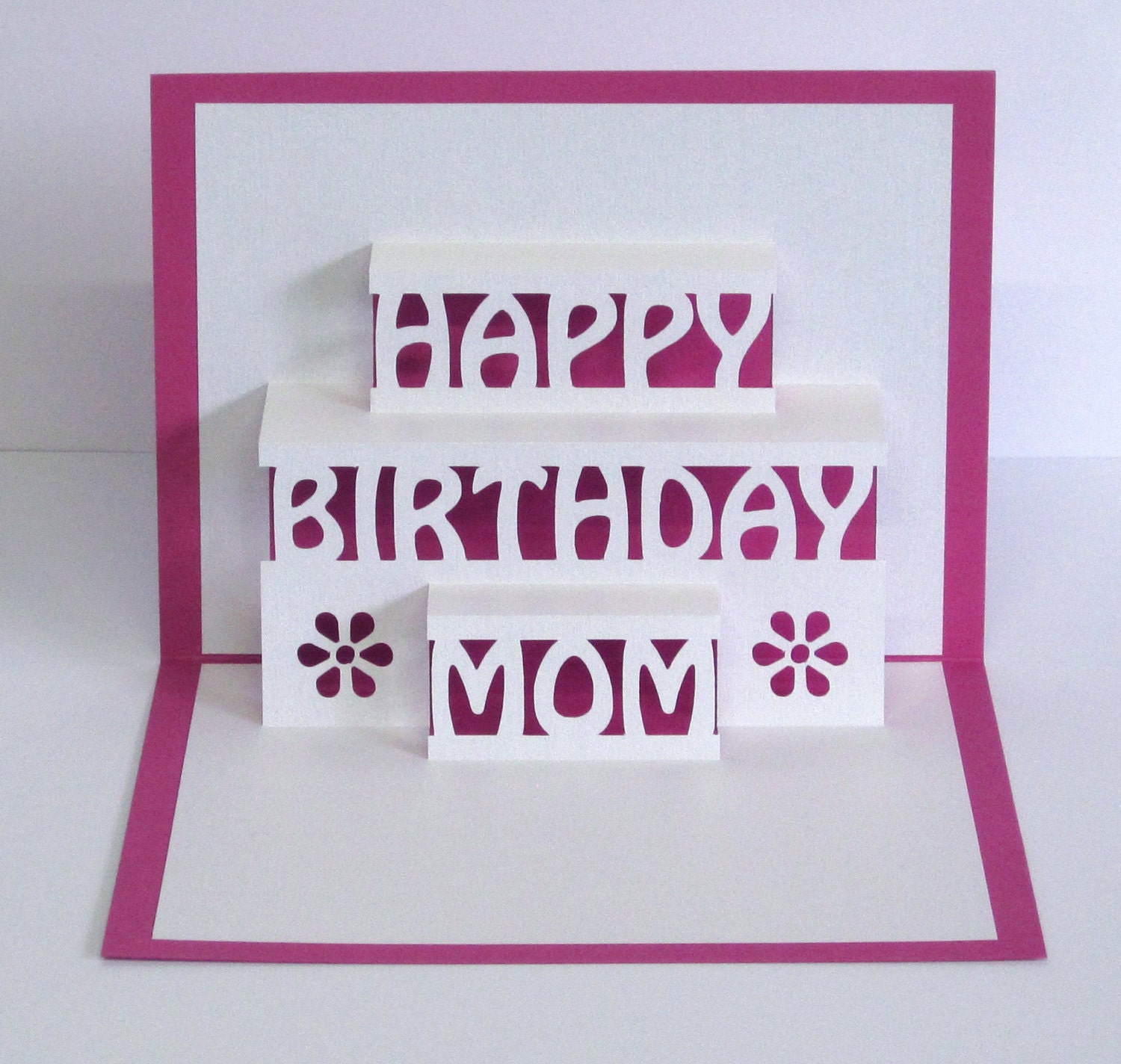 Mama geburtstagskarte 3d pop up happy birthday mama card - Geburtstagskarte pop up ...