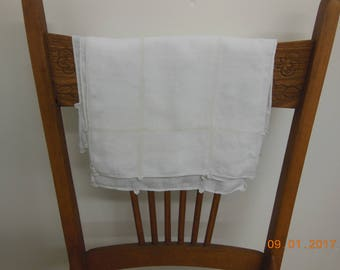 Napkins Set of 6 vintage antique linens