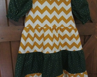 Girls LILLY Tiered Dress Size 5