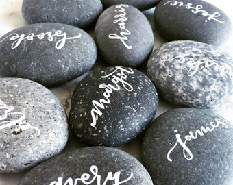 Pebble Place Cards