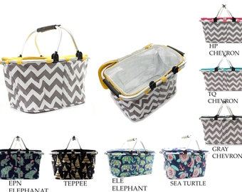 Insulated Market Totes With free monogram