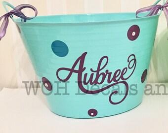 Personalized Gift Baskets, Custom Gift Basket, Storage Basket, Gift Basket Ideas