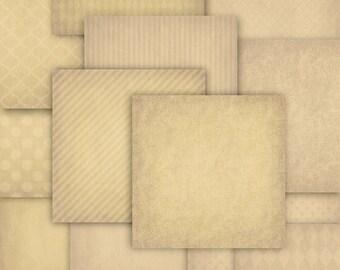 Sepia Digital Paper, Instant Download, Digital Background, Printable Paper, Vintage Digital Paper, Scrapbook Paper, Old Digital, 00002
